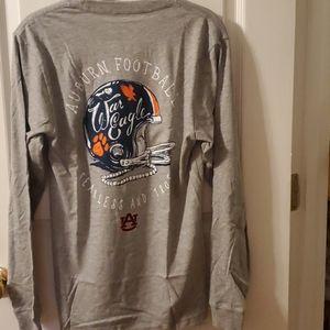 Auburn L/S shirt... Size XS... NWT!